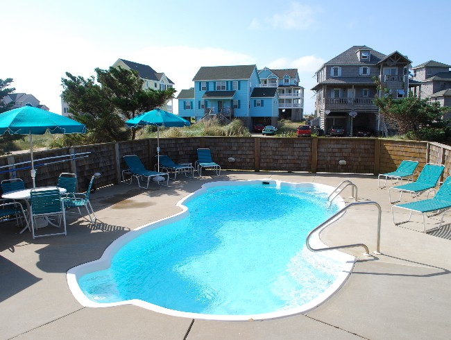1st Floor: Pool Deck - Private Pool - Can be Heated!